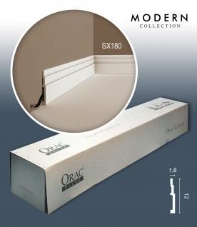 Orac Decor SX180 MODERN 1 Karton SET mit 16 Sockelleisten Zierleisten | 32 m