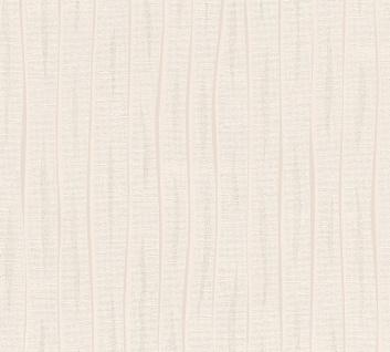 Streifen Tapete Profhome 364743-GU Vliestapete leicht strukturiert mit Streifen matt creme 5, 33 m2