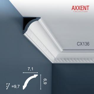 Stuck Leiste Eckleiste Orac Decor CX136 AXXENT Stuckleiste Zierleiste Profilleiste Wand Leiste Decken Leiste 2 Meter