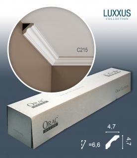 Orac Decor C215 LUXXUS 1 Karton SET mit 24 Eckleisten Stuckleisten | 48 m