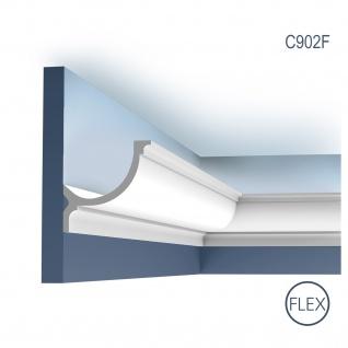 Stuck Zierleiste Orac Decor C902F LUXXUS flexible Eckleiste Profilleiste profil Gesims FLEX 2 Meter