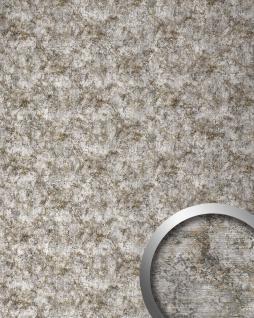 Wandpaneel Metall-Rost-Optik WallFace 17275 DECO VINTAGE Design Wandverkleidung selbstklebend grau silber   2, 60 qm