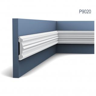 Friesleiste Rahmen Orac Decor P9020 LUXXUS Wand Leiste Stuckprofil Dekor Profil Leiste Zierleiste Wand 2 Meter