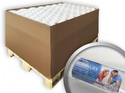 Renoviervlies NORMVLIES 150 g Malervlies Anstrich-Vlies glatte überstreichbare Vliestapete weiß | 1 Pal. 1800 qm 96 Rol.