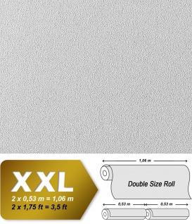 EDEM 377-60 1 Kart 5 Rollen Decken Wand Renovier-Vlies-Tapete feine struktur überstreichbar 132 qm - Vorschau 2