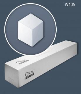 Orac Decor W105-box 1 Karton SET mit 6 3D Wandpaneele Zierlementen 0, 46 m2