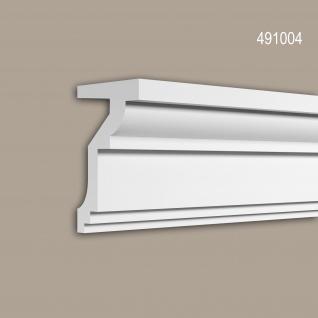 Eckleiste 491004 Profhome Fassadenprofil Zierleiste Stuckleiste Neo-Klassizismus-Stil weiß 2 m
