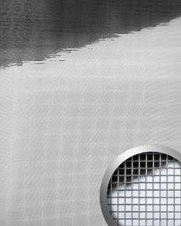 Wandpaneel Wandverkleidung WallFace 10650 M-Style Design Platte EyeCatch Metall Mosaik Dekor selbstklebend spiegel glanz silber | 0, 96 qm - Vorschau 1