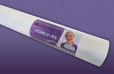 HomeVlies 120 g überstreichbare Vliestapete für glatte saubere Wände Renoviervlies Malervlies Glattvlies weiß   25 qm