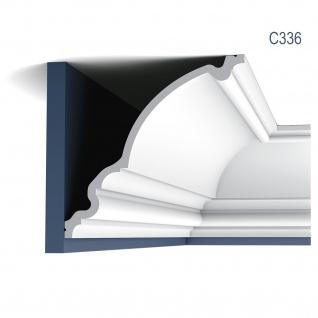 Eckleiste Dekor Profil Orac Decor C336 LUXXUS Decken Wand Stuck Gesims Dekorleiste Profilleiste 2 Meter