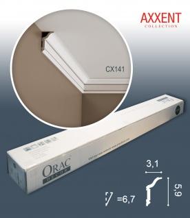 Orac Decor CX141 AXXENT Karton SET mit 18 Eckleisten Stuckleisten | 36 m