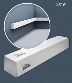 Orac Decor SX194-box-10 1 Karton SET mit 10 Sockelleisten Stuckleisten   20 m