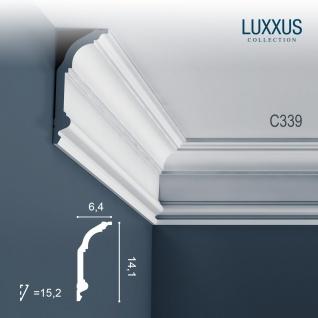 Orac Decor C339 LUXXUS 1 Karton SET mit 7 Stuckleisten   14 m - Vorschau 2