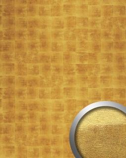 Wandplatte Paneel selbstklebend gold WallFace 21392 DECO LUXURY Wandpaneel Design Metalloptik Wandverkleidung 2, 60 qm