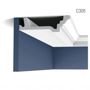 Eckleiste Orac Decor C305 LUXXUS Zierleiste Stuckleiste Dekorprofil Decken Wand Leiste Gesims Wand 2 Meter