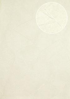 Spachtel-Putz Tapete Atlas INS-5079-7 Strukturtapete geprägt matt weiß hell-elfenbein rein-weiß 7, 035 m2