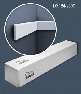 Orac Decor DX184-2300-box 1 Karton SET mit 16 Türumrandungen Sockelleisten   36, 8 m