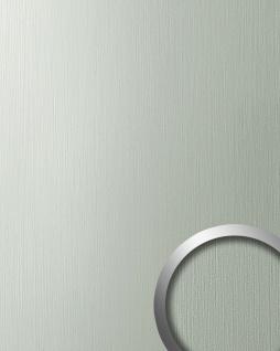 Wandverkleidung Design Platte WallFace 15452 DECO EyeCatch Metall Wand Dekor selbstklebende Tapete edelstahl grau 2, 60 qm