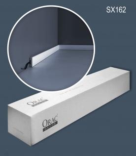 Orac Decor SX162-box-10 1 Karton SET mit 10 Sockelleisten Wandleisten | 20 m