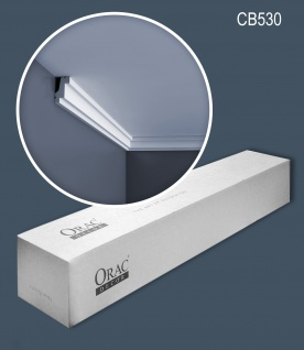 Orac Decor CB530 BASIXX 1 Karton SET mit 45 Stuckleisten | 90 m