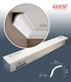 Orac Decor CX128 AXXENT 1 Karton SET mit 12 Eckleisten Stuckleisten | 24 m
