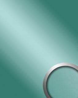 Wandpaneel Spiegel Design Glanz-Optik WallFace 10262 DECO MINT Wandverkleidung abriebfest selbstklebend grün   2, 60 qm
