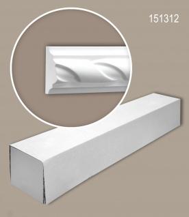 Profhome 151312 1 Karton SET mit 42 Wand- und Friesleisten Zierleisten Stuckleisten | 84 m