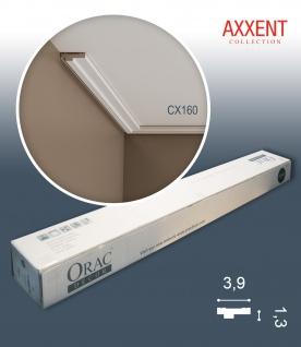 Orac Decor CX160 AXXENT 1 Karton SET mit 32 Eckleisten Stuckleisten | 64 m