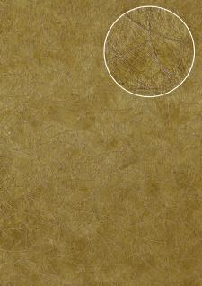 Grafik Tapete Atlas STI-5106-4 Vliestapete geprägt in Felloptik schimmernd gold oliv-gelb ocker-gelb perl-gold 7, 035 m2 - Vorschau 1