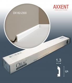 Orac Decor DX182-2300-box 1 Karton SET mit 36 Türumrandungen Sockelleisten | 82, 8 m