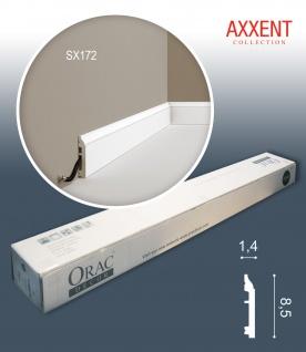 Orac Decor SX172-box-10 1 Karton SET mit 10 Sockelleisten Stuckleisten | 20 m