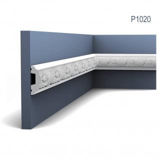 Stuck Wandleiste Orac Decor P1020 LUXXUS Friesleiste Stuckleiste Wand Dekor Profil Zierleiste Wand mit Relief 2 Meter