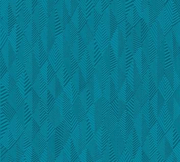 Grafik Tapete Profhome 359982-GU Vliestapete leicht strukturiert mit grafischem Muster matt blau grün 5, 33 m2