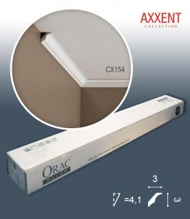 Orac Decor CX154 AXXENT 1 Karton SET mit 32 Eckleisten Stuckleisten | 64 m