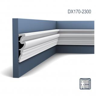 Türumrandung Stuck Orac Decor DX170-2300 LUXXUS Zierleiste Wandleiste Rahmen Dekor Element Friesleiste | 2, 3 Meter