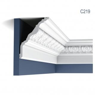 Stuckleiste Orac Decor C219 LUXXUS Zierleiste Eckleiste Deckenleiste Profilleiste Wand Dekor Leiste | 2 Meter