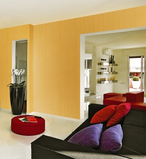 Streifen Tapete EDEM 1015-13 Fashion Designer Uni-Tapete dezente Struktur-Muster hochwaschbare Oberfläche kakao-braun - Vorschau 2