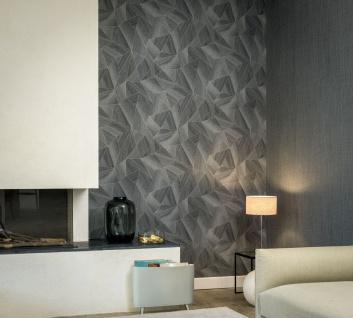 Grafik Tapete Profhome 361333-GU Vliestapete glatt mit grafischem Muster matt grau schwarz 5, 33 m2 - Vorschau 4