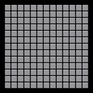 Mosaik Fliese massiv Metall Edelstahl matt in grau 1, 6mm stark ALLOY Mosaic-S-S-MA 1, 04 m2 - Vorschau 3