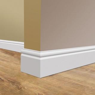 Sockelleiste Fußleiste von Orac Decor SX138 AXXENT Profilleiste Wand Boden Leiste mit Kabelschutz Funktion | 2 Meter - Vorschau 4