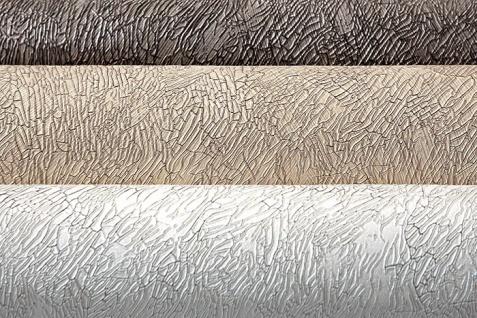 Uni Tapete EDEM 9009-24 Vliestapete geprägt mit abstraktem Muster glänzend grau silber 10, 65 m2 - Vorschau 2