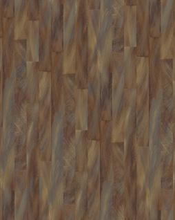 Streifen Tapete Profhome VD219145-DI heißgeprägte Vliestapete geprägt mit Streifen dezent schimmernd braun bronze silber 5, 33 m2