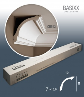 Orac Decor CB512 BASIXX 1 Karton SET mit 18 Stuckleisten | 36 m