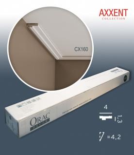 Orac Decor CX160 AXXENT 1 Karton SET mit 24 Eckleisten Stuckleisten | 48 m