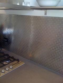 Mosaik Fliese massiv Metall Edelstahl gebürstet in grau 1, 6mm stark ALLOY House-S-S-B 0, 98 m2 - Vorschau 5