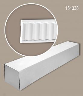 Profhome 151338 1 Karton SET mit 22 Wand- und Friesleisten Zierleisten Stuckleisten | 44 m
