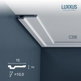 Stuck Zierleiste Orac Decor C356 LUXXUS leiste Eckleiste Leiste Dekorleiste Gesims Decken Profilleiste | 2 Meter