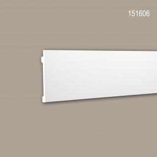 Wand- und Friesleiste PROFHOME 151606 Stuckleiste für indirekte Beleuchtung Zierleiste Modernes Design weiß 2 m
