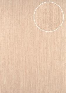 Streifen Tapete ATLAS CLA-596-9 Vliestapete glatt mit grafischem Muster glitzernd creme perl-beige creme-weiß 5, 33 m2