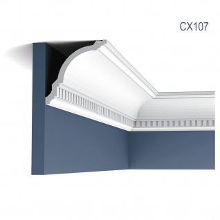 Zierleiste Profilleiste Orac Decor CX107 AXXENT Stuck Profil Eckleiste Wand Leiste Decken Leiste 2 Meter
